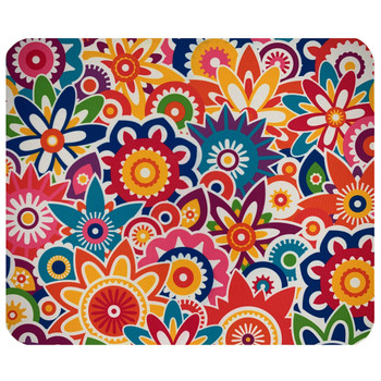 Floral Madness Mouse Pad Mat