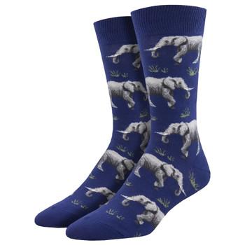 Elephant Men's Crew Socks