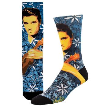 Mahalo Elvis Presley 3D Printed Socks