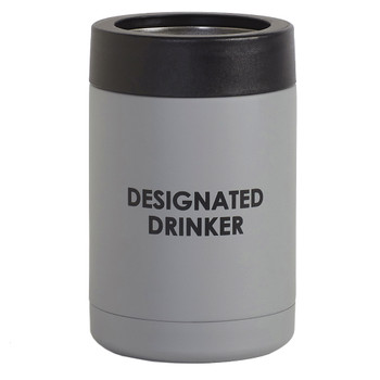The Designated Drinker Insulated Can Cooler