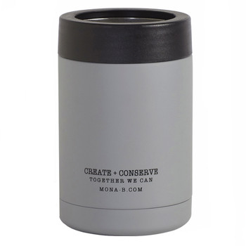 The Designated Drinker Insulated Can Cooler back view