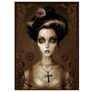 Maria Brown by Marcus Jones Canvas Giclee