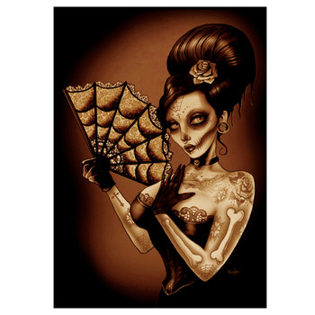 Fan Girl by Marcus Jones Canvas Giclee