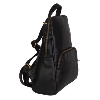Mona B Grace Convertible Mini Backpack Purse side view