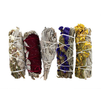 5 Pack California Sage Hand Wrapped