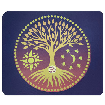OM Tree of Life Mouse Pad Mat