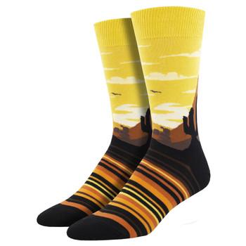 Painted Sky Men's Crew Socks