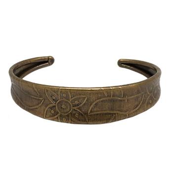 Banjara Collection Etched Cuff Bracelet