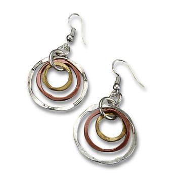 Banjara Graduated Circles Earrings