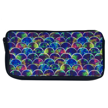 Peacock Mermaid Scales Zippered Pouch