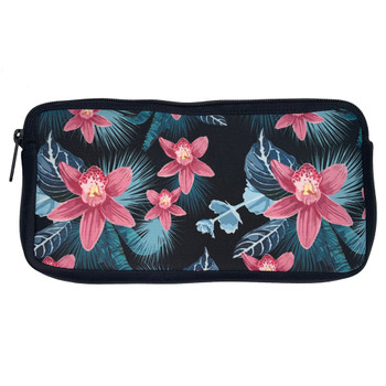 Hibiscus Flowers Zippered Pouch
