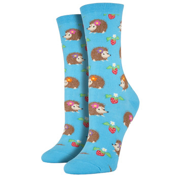 Hedgehogs Women's Crew Socks