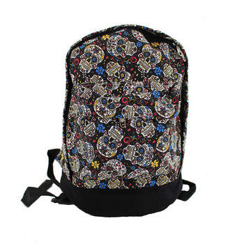 Small sugar skull backpack.