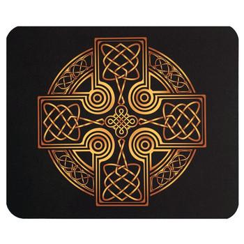 Celtic Art Cross Mouse Pad Mat