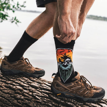 Atomicchild Men's Casual Socks - Force of Nature model view