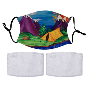 Janet Edziak Outdoor Camping Protective Face Covering Mask