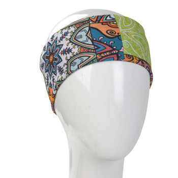 Boho patchwork designed headbands.