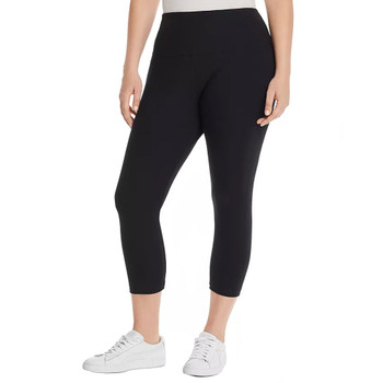 Lysse Plus Cotton Stretch Cropped Leggings