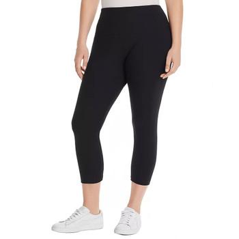 Lysse Plus Cotton Stretch Cropped Leggings