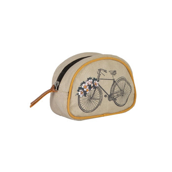 Trust the Journey Small Cosmetic Bag front view