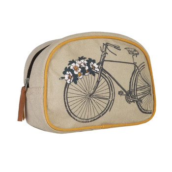 Trust the Journey Cosmetic Bag front view