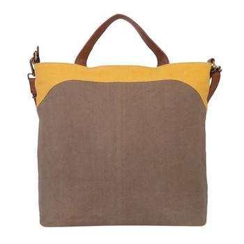 Farrah Goldenrod Crossbody Shoulder Bag Purse back view