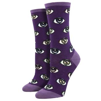 Starry Eyes Women's Crew Socks