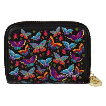 Butterflies Zippered Wallet