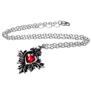 Alchemy Gothic - P905 - Bouquet of Love Pendant chain view