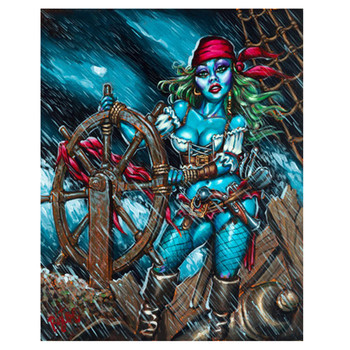 Big Toe - Lashed To The Wheel - Canvas Art Print