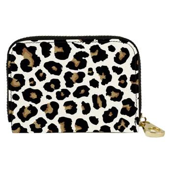 Cheetah Print Small Zippered Wallet