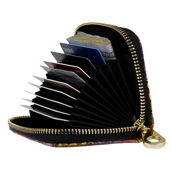 Zippered Wallet Inside View