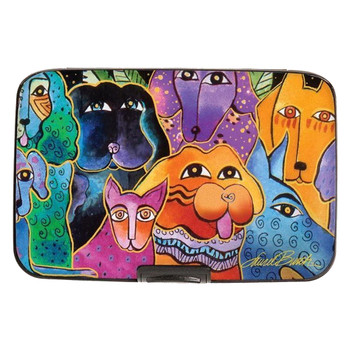 Laurel Burch Dogs Armored Wallet