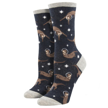 Otter Space Women's Crew Socks