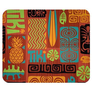 Retro Tiki Mouse Pad Mat