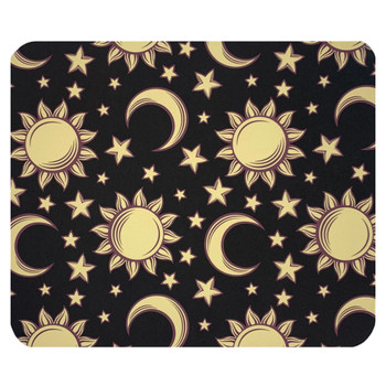 Suns Moons and Stars Mouse Pad Mat