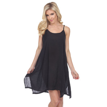 Layering Tank Dress Black