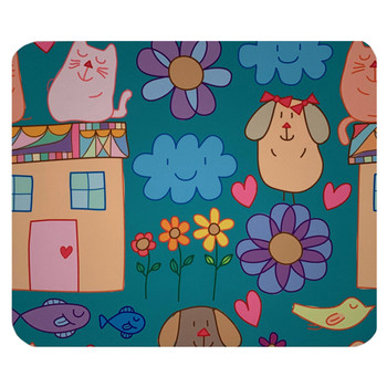 Cartoon Animals Mouse Pad Mat