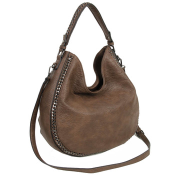 The Dana Hobo Crossbody front view