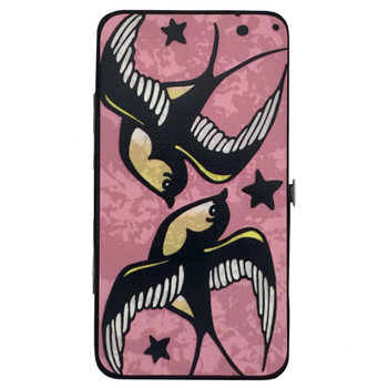 Lucky Love Birds Hinged Wallet