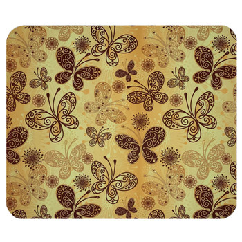 Bohemian Butterfly Mouse Pad Mat