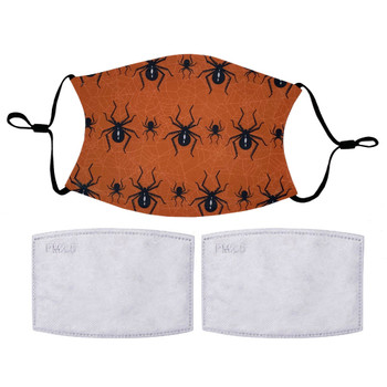 Black Widow Spiders Halloween Inspired Face Mask