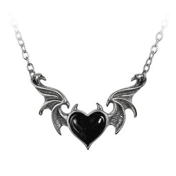 P896 - Black Soul Bat Wing Necklace