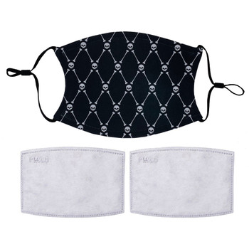 Skull and Crossbones Reusable Face Mask