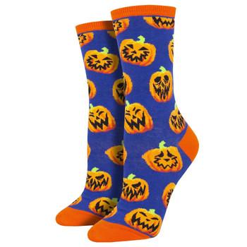 Halloween Pumpkins Women's Crew Socks