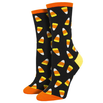 Halloween Candy Corn Women's Crew Socks