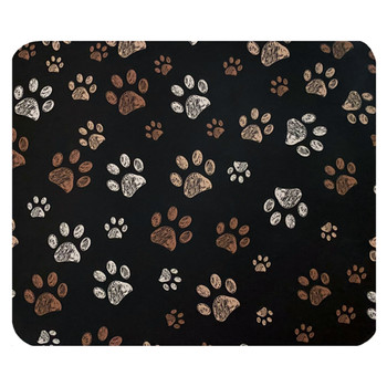 Doggy Paw Prints Mouse Pad Mat