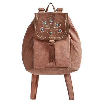 Mona B Dreamweaver Canvas Backpack Purse