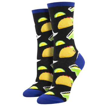 Tacos and Margaritas Women's Crew Socks
