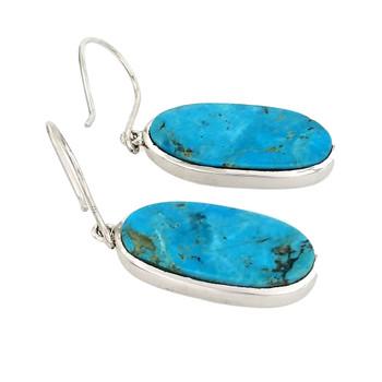 Blue Turquoise earrings.